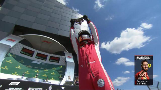 GP de Grande-Bretagne (n°10): Vettel (GER) s'impose devant Raikkonen (FIN) 2e et Hamilton (GBR) 3e [RTS]