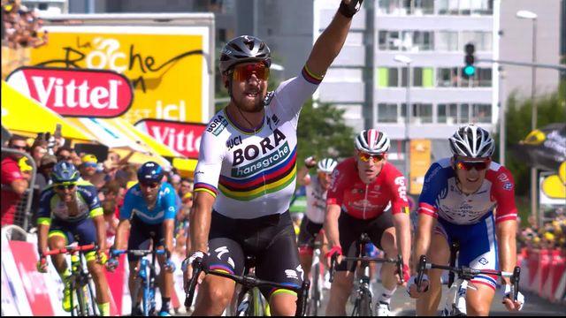 2e étape: victoire de Peter Sagan (SVK) [RTS]