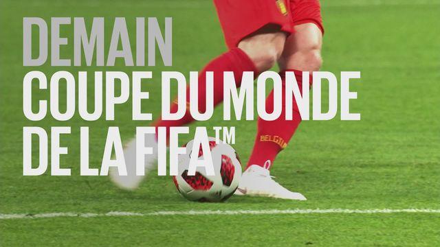 Bande-annonce: Coupe du Monde de la FIFA 1-2 finales du 10.07.2018 [RTS]