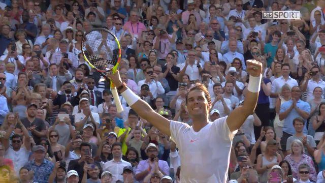 1-8, J.Vesely (CZE) - R.Nadal (ESP) (3-6, 3-6, 4-6): Nadal file en quarts [RTS]