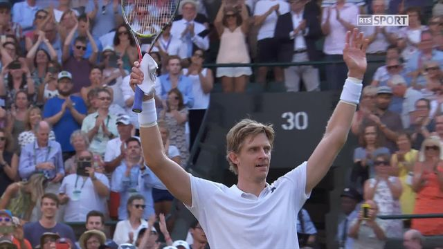 1-8, G.Monfils (FRA) - K.Anderson (RSA) (6-7, 6-7, 7-5, 6-7): Anderson jouera contre Federer en quarts [RTS]