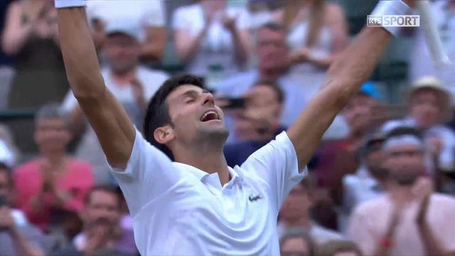 1-8, K.Khachanov (RUS) - N.Djokovic (SRB) (4-6, 2-6, 2-6): Victoire facile pour Djokovic [RTS]