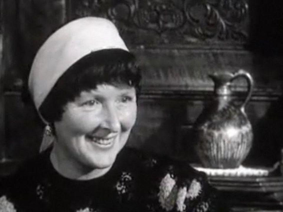 Corinna Bille en 1962. [TSR]