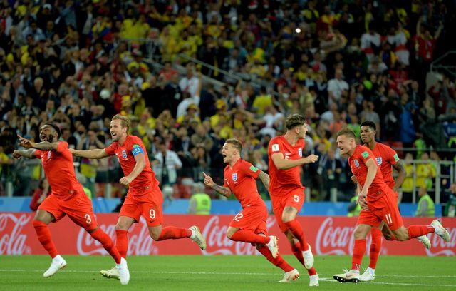 Les Anglais espèrent continuer leur parcours. [Keystone]