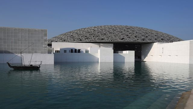 Vue extérieure du Louvre d'Abu Dhabi. [Kamran Jebreili - AP/Keystone]