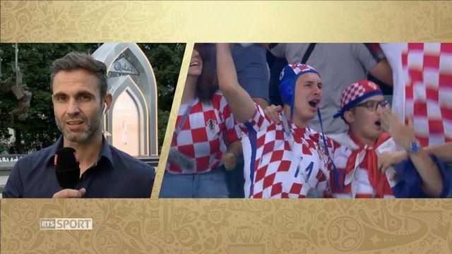 Croatie - Angleterre [RTS]