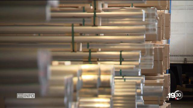 Taxes américaines sur l'acier et l'aluminium: La Suisse saisit l'OMC. Elle demande à en être exemptée [RTS]