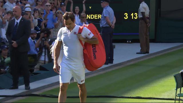 1-4, R.Federer (SUI) – K.Anderson (RSA) (6-2, 7-6, 5-7, 4-6, 11-13): Federer éliminé en 5 manches après un dernier set interminable! [RTS]