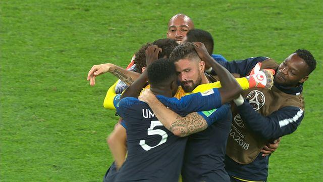 Résumé de France - Belgique (1-0)