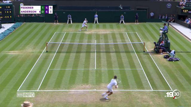 Wimbledon: Roger Federer éliminé dès les quarts de finale ! [RTS]