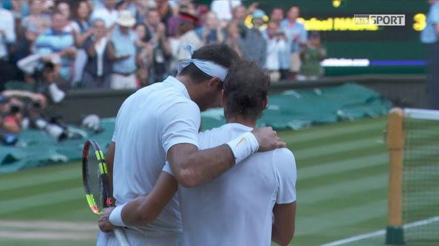1-4, J.M.Del Potro (ARG) battu par R.Nadal (ESP) (5-7, 7-6, 6-4, 4-6, 4-6) [RTS]