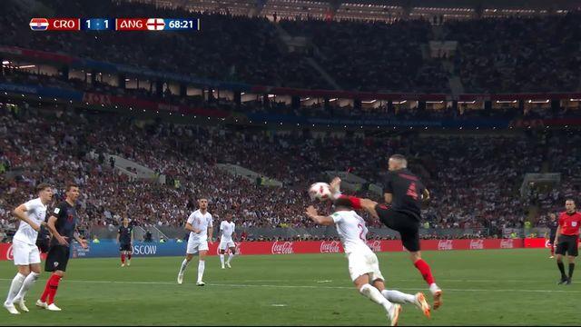 1-2, Croatie – Angleterre (1-1): 68e, égalisation de Perisic [RTS]