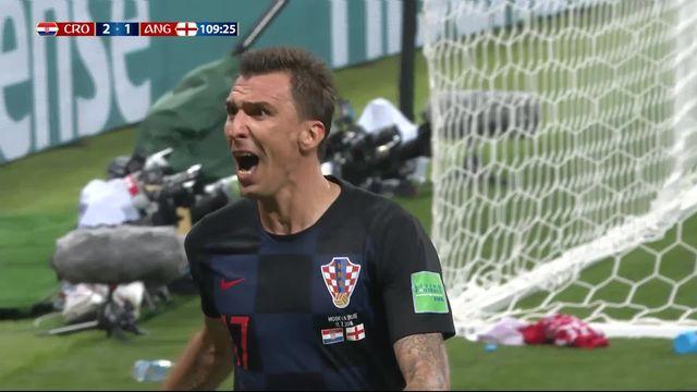 1-2, Croatie – Angleterre (2-1): 108e, Mandzukic donne l'avantage à la Croatie! [RTS]