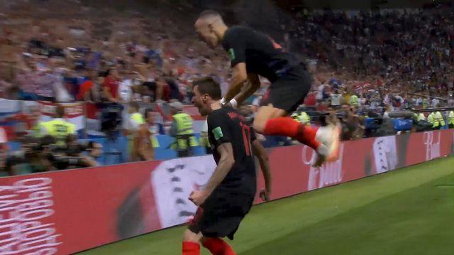 Résumé de Croatie - Angleterre (2-1)