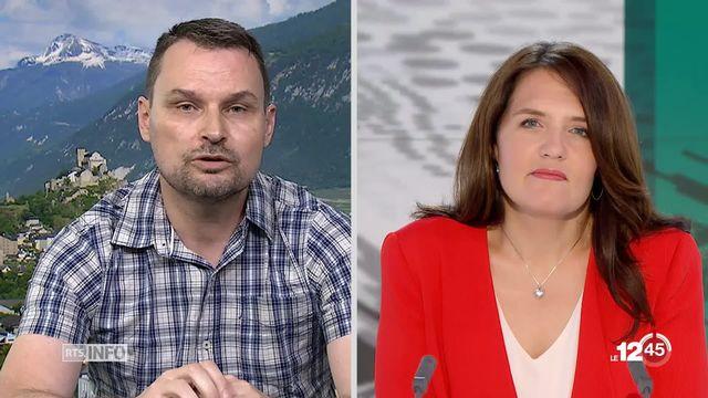Ouverture de la Suisse à la 5G: les explications de Pascal Martin [RTS]
