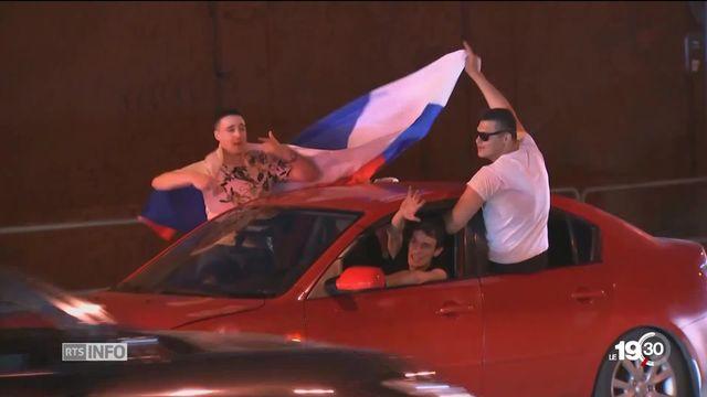 A Moscou, une ambiance exceptionnelle pour la coupe du monde [RTS]