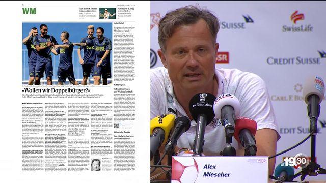 Etre binational et joueur de l'Equipe de Suisse, c'est peut-être bientôt fini ! Un dirigeant de l'ASF rallume la polémique [RTS]
