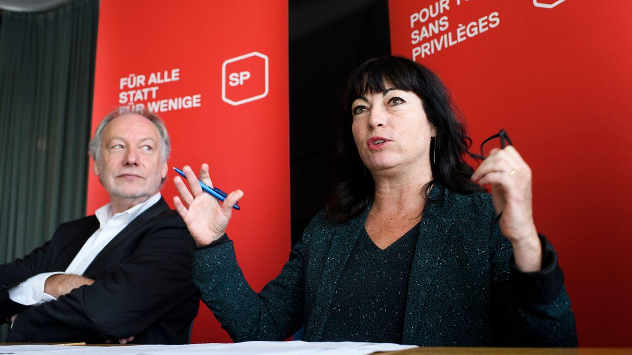 Pour la vice-présidente du PS Géraldine Savary, il est capital que les partis se mobilisent. [Anthony Anex - Keystone]