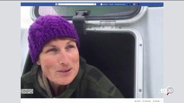 Anne Quéméré en arctique : l'aventurière solaire [RTS]