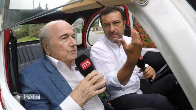 La Deuche rencontre Sepp Blatter [RTS]