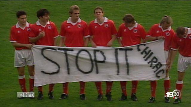La politique a toujours fait partie intégrante du football [RTS]