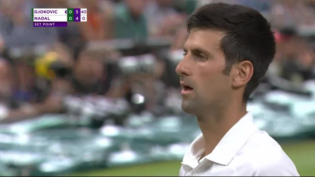1-2, N.Djokovic (SRB) – R.Nadal (ESP) (6-4) [RTS]