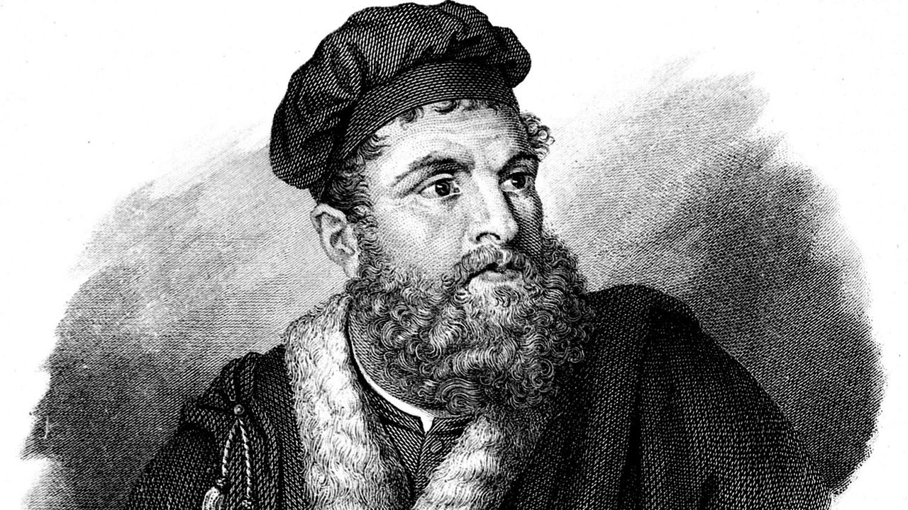 Marco Polo (1254-1324), voyageur vénitien. [Harlingue - AFP]