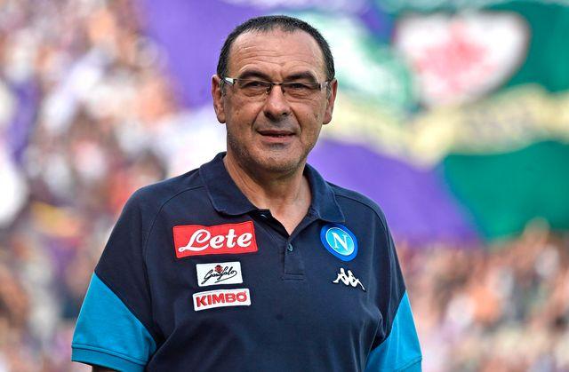 Maurizio Sarri a oeuvré durant trois saisons à Naples. [Maurizio Degl'Innocenti - Keystone]