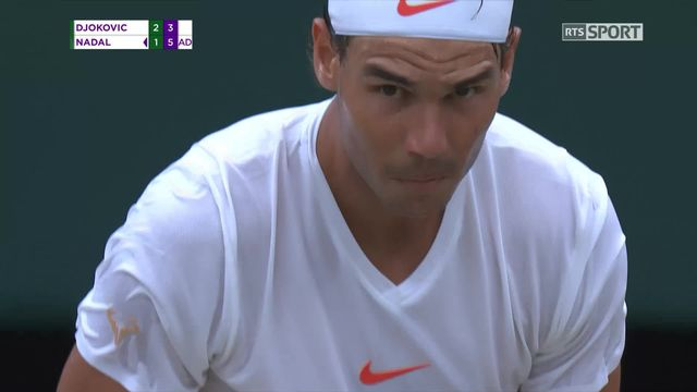 1-2, N.Djokovic (SRB) – R.Nadal (ESP) (6-4, 3-6, 7-6, 3-6)) [RTS]