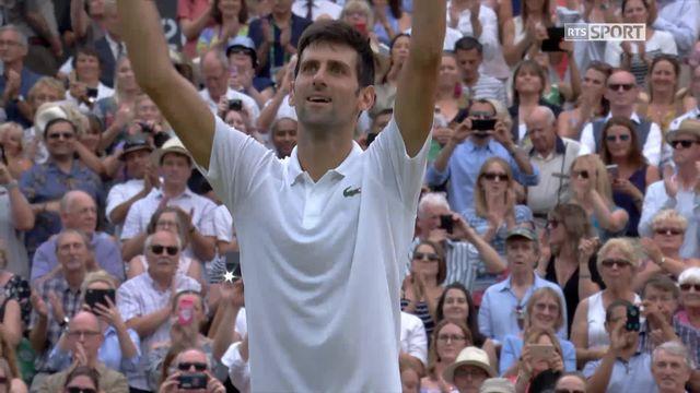 1-2, N.Djokovic (SRB) – R.Nadal (ESP) (6-4, 3-6, 7-6, 3-6, 10-8): Djokovic se qualifie pour la finale au terme d'un 5e set d'anthologie [RTS]