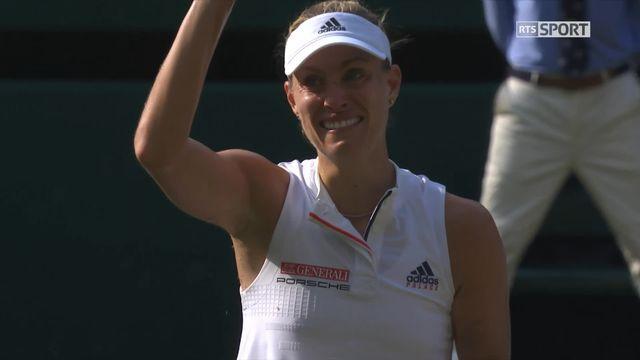 Finale dames, A.Kerber (GER) - S.Williams (USA) (6-3, 6-3): victoire de Kerber en 2 manches [RTS]