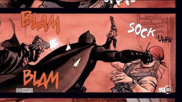 Batman revient en bande dessinée sous les traits du dessinateur bâlois Enrico Marini [RTS]