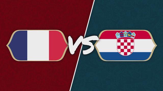 Le Duel: France - Croatie: le parcours des finalistes [RTS]