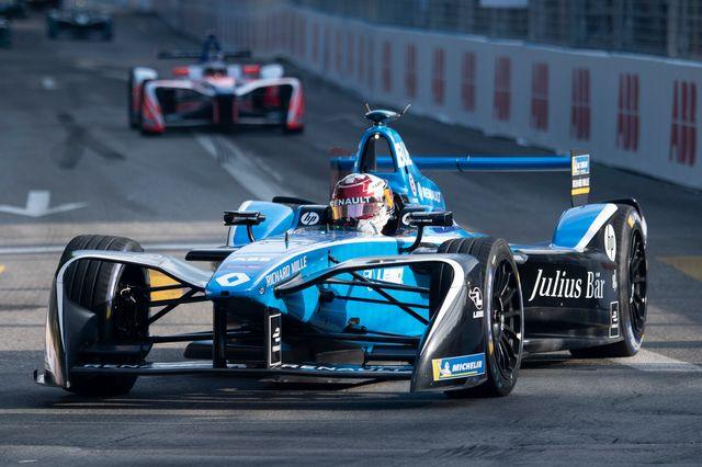 Sébastien Buemi a signé son 4e podium de la saison à New York. [Ennio Leanza - Keystone]