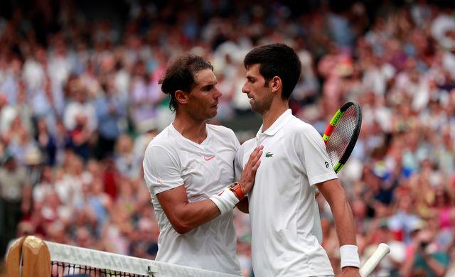 Nadal et Djokovic ont livré un match mémorable sur le Centre Court. [Andrew Couldridge - Keystone]
