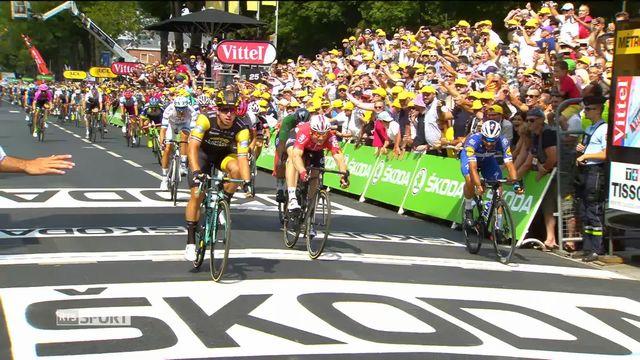 Cyclisme, Tour de France: le résumé de la 8e étape [RTS]