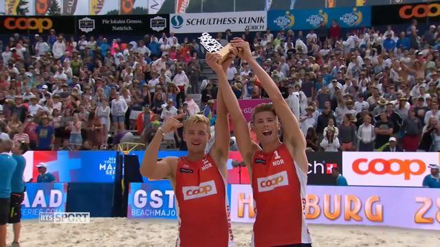 Beachvolley, FIVB World Tour: la paire Norvégienne devient la plus jeune de l'histoire à s'adjuger un tournoi 5 étoiles [RTS]