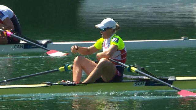 Finale, skif dames: victoire de la Suissesse en finale [RTS]