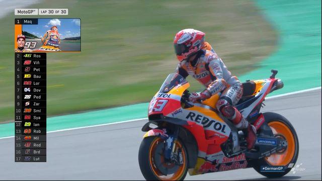 Moto GP: Marquez (ESP) s'impose devant Rossi (ITA) 2e et Vinales (ESP) 3e [RTS]