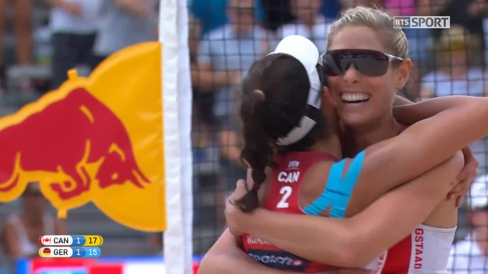 Finale, Canada - Allemagne (21-17 12-21 17-15): victoire des Canadiennes [RTS]