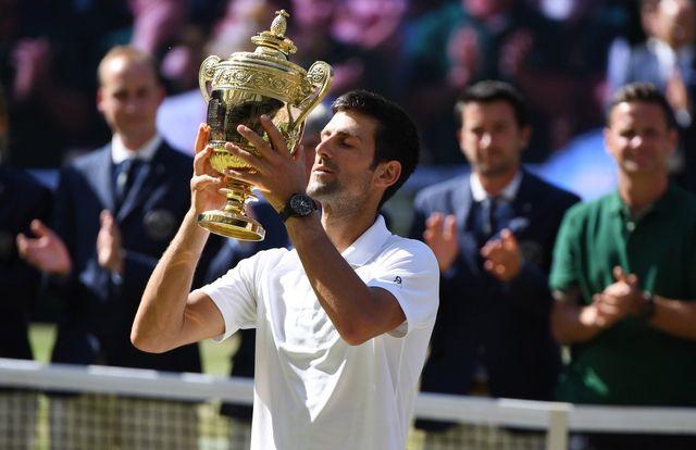 Djokovic a fêté son 4e titre à Londres après 2011, 2014 et 2015. [Gerry Penny - Keystone]