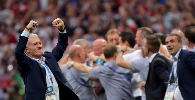 Didier Deschamps a marqué encore un peu plus l'histoire du football français. [Peter Powell - Keystone]
