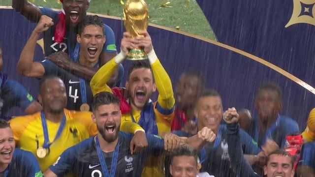 Résumé de France - Croatie (4-2) [RTS]