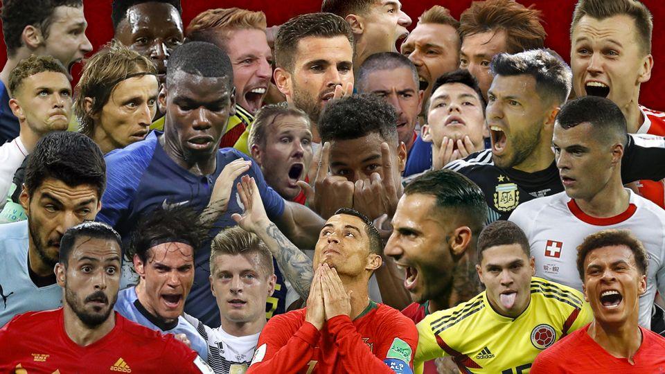 Les 169 buts de la Coupe du Monde en 4min30