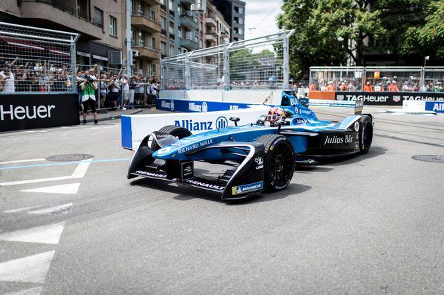 Buemi n'aura pas trouvé le chemin du succès dans cette 4e saison de formule E. [Keystone]