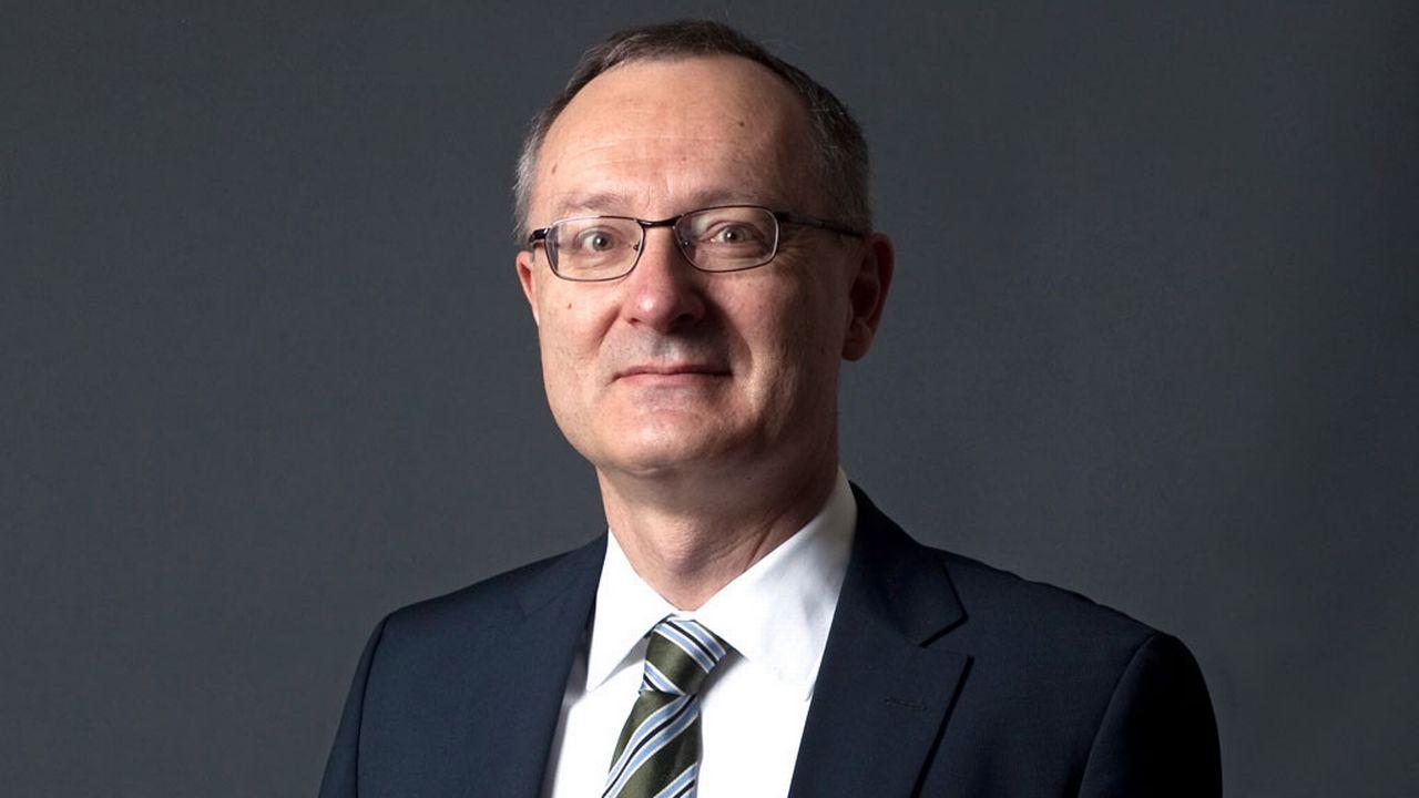 Didier Chambovey, chef de la Mission permanente de la Suisse près l'OMC et l'AELE à Genève. [Marco Zan - Seco]