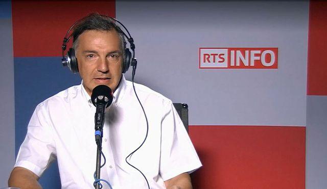 Michel Zen-Ruffinen, avocat spécialiste du sport. [RTS]