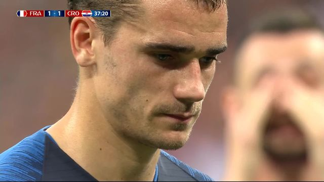 Finale, France - Croatie 2-1: 36e, Antoine Griezmann transforme son penalty [RTS]