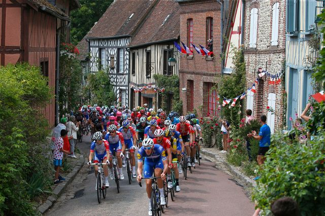 Les coureurs du Tour de France 2018. [Peter Dejong - Keystone]