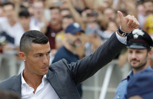 """Cristiano Ronaldo à la Juventus: """"Je suis différent des autres"""" [Luca Bruno - Keystone]"""